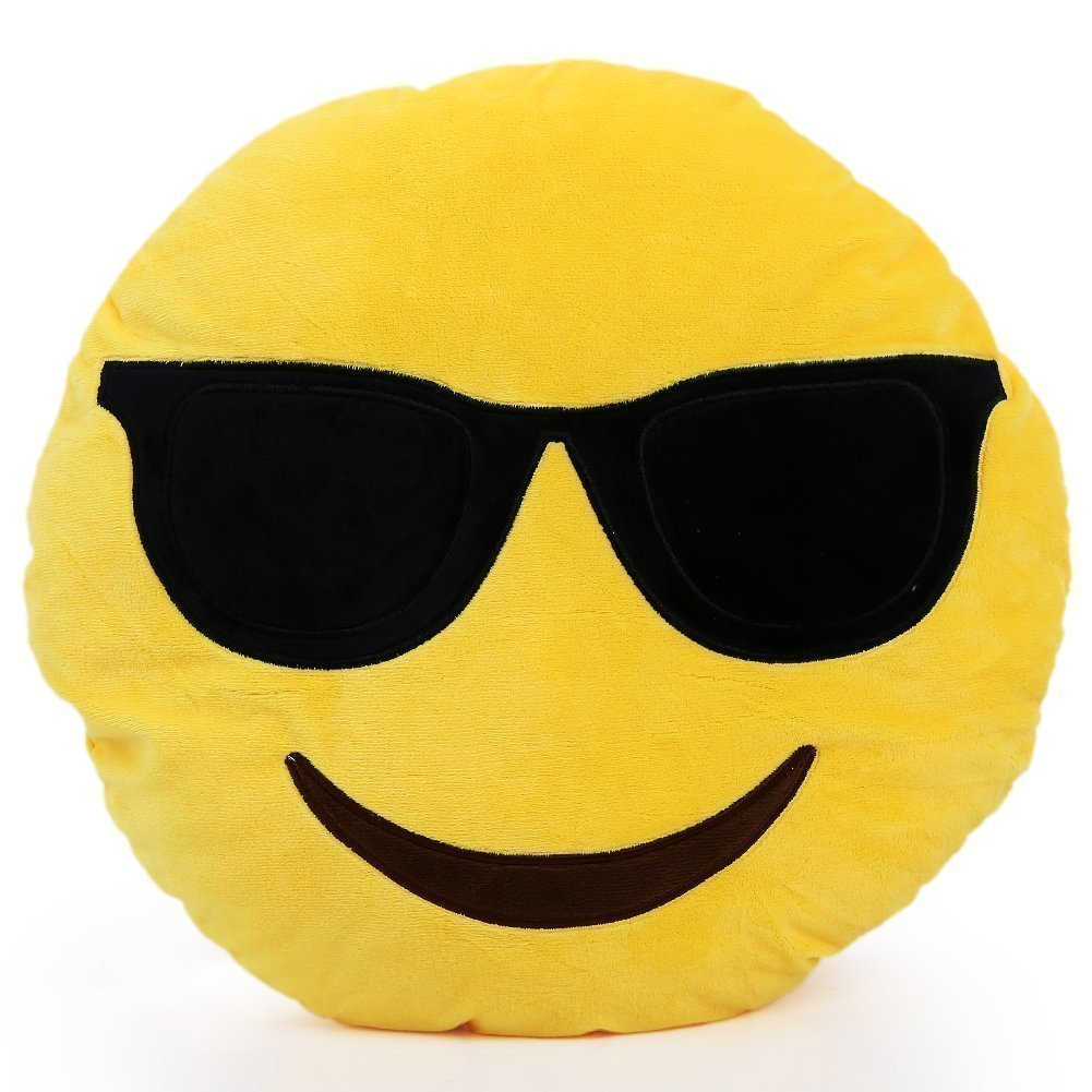 Amazon.com: 32cm Oi Emoji Smiley Emoticon Cushion Pillow ...