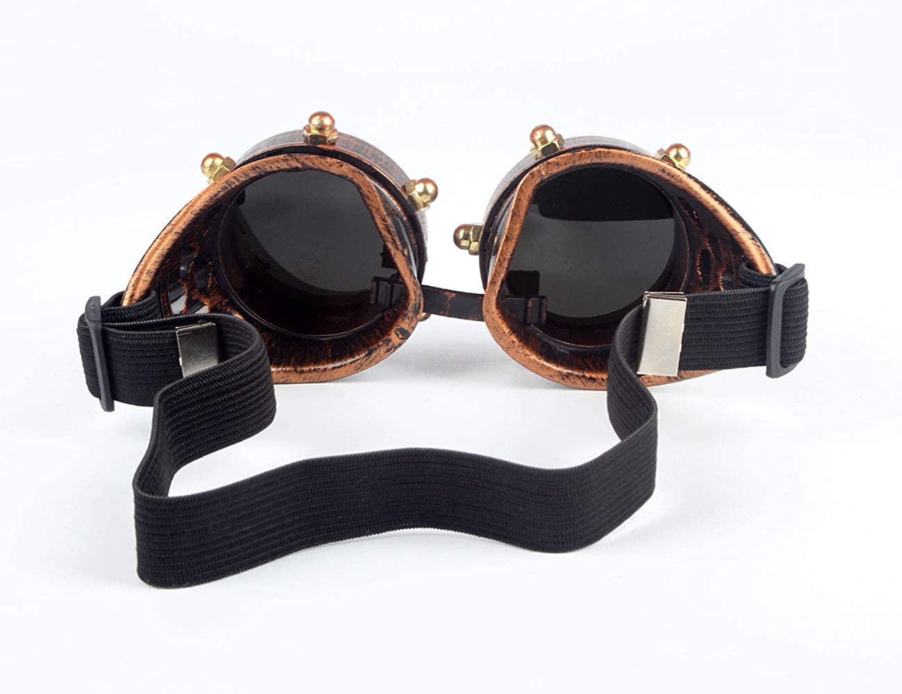 OMG/_Shop Steampunk Goggles Cyber Welding Goth Cosplay Vintage Goggles Rustic