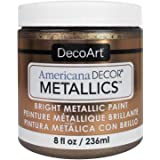DecoArt Ameri Deco MTLC Ant Bronze Americana Decor Metallics 8oz AntBronze, 1