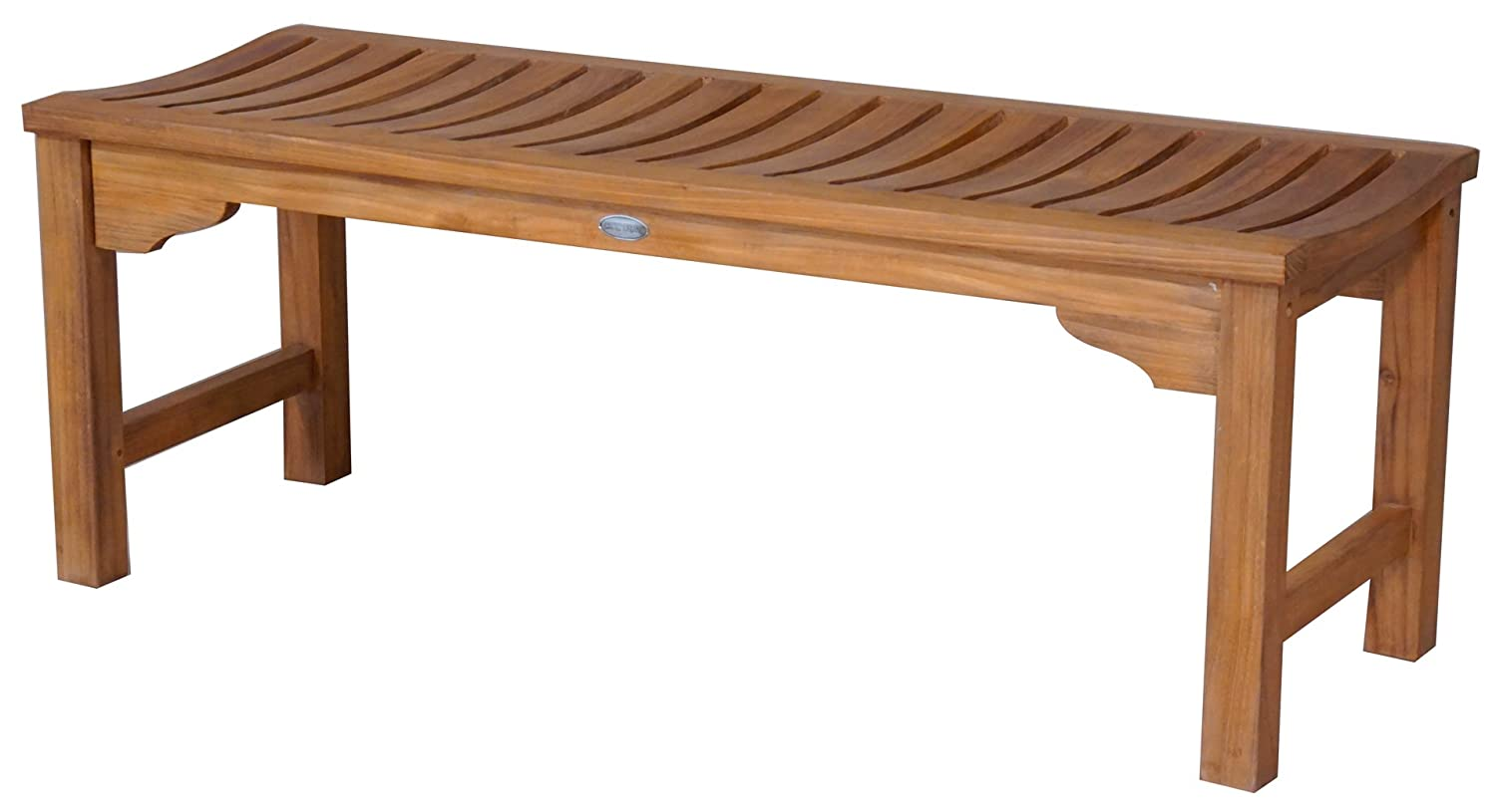 Amazon Com Teak Santa Monica Backless Bench 4 Foot Made From
