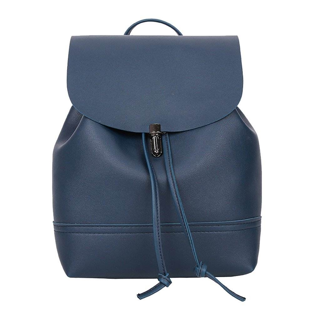 Amazon.com: Women Backpack PU Leather Mochila Escolar School Bags for Teenagers Girls Top-Handle Backpacks Herald: Kitchen & Dining