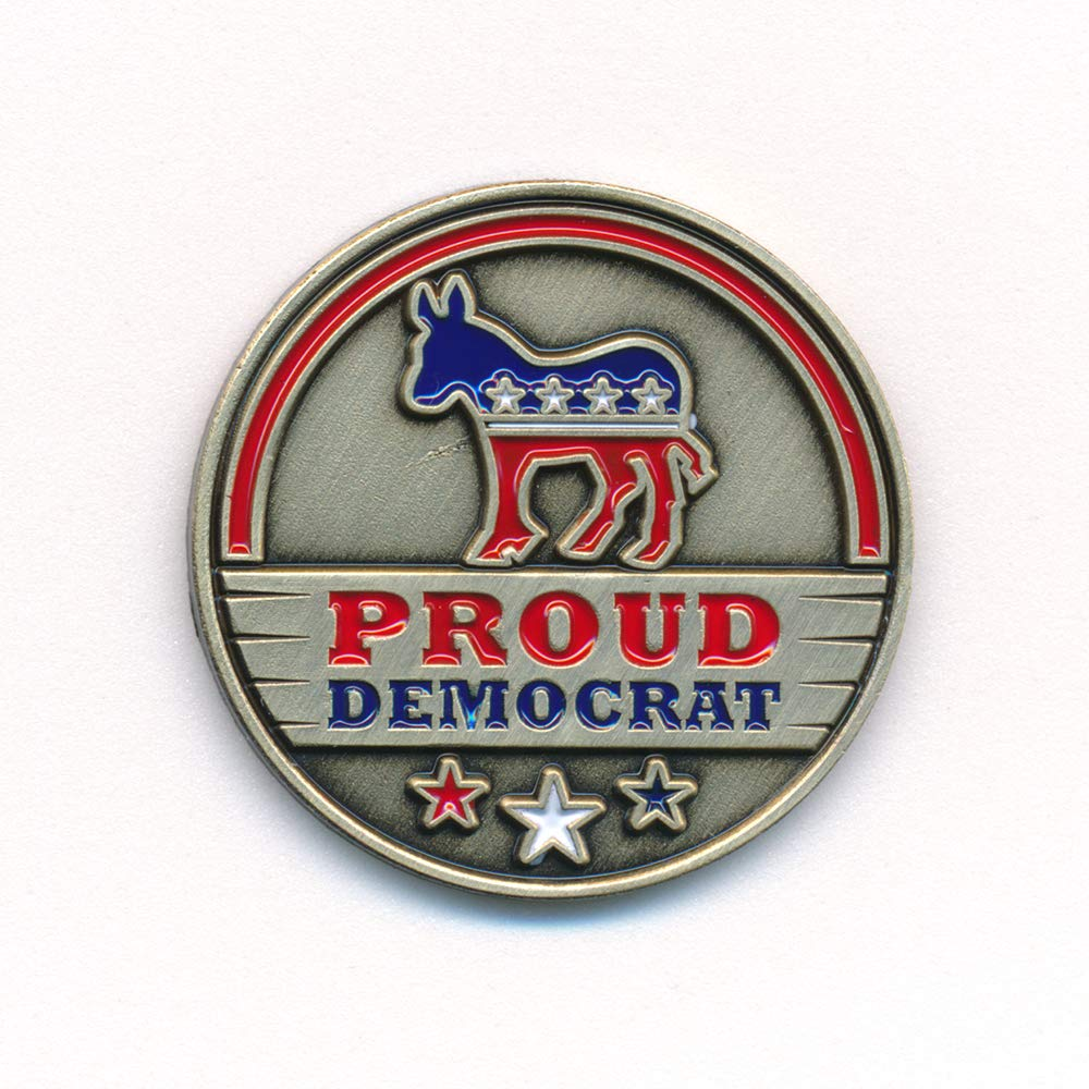 Hegiba Democratic Party Democratic Party Donkey USA Nostalgia Pin Badge 0912