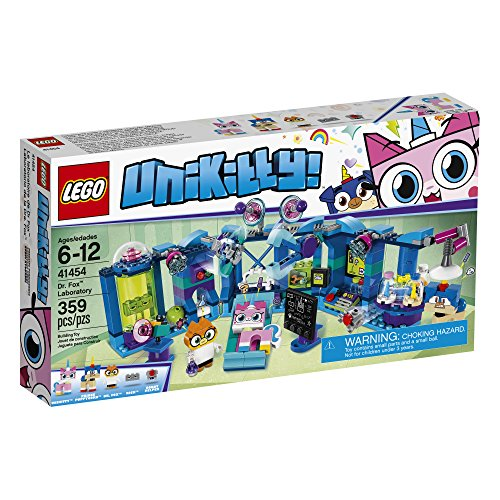 Lego Unikitty! Dr. Fox Laboratory 41454 Building Kit (359 Piece)