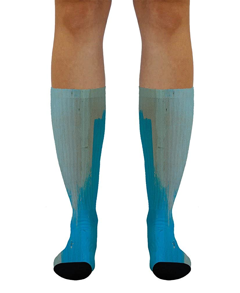 Brown Concrete #2 Men-Women Adult Ankle Socks Crazy Novelty Socks