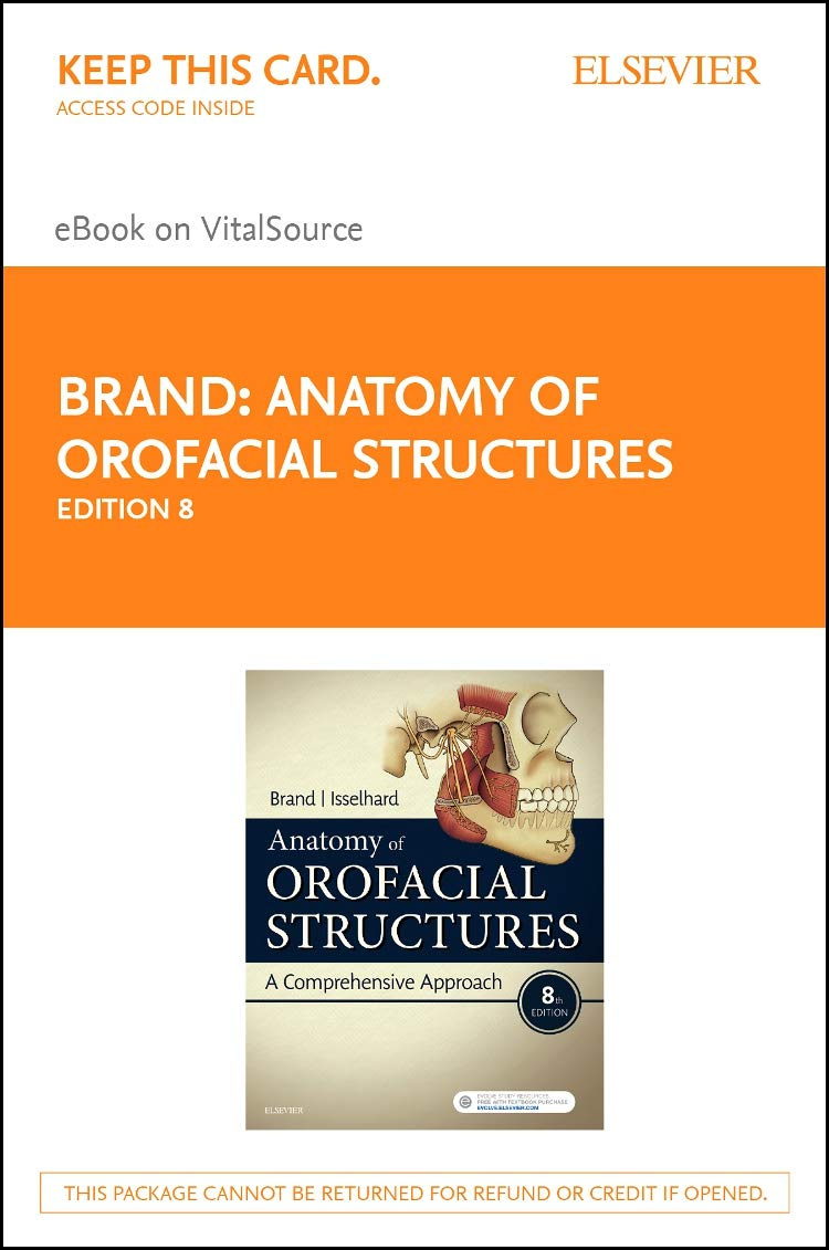 Anatomy Of Orofacial Structures Elsevier Ebook On Vitalsource