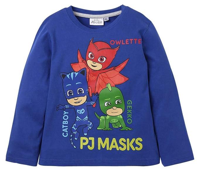 PJ Masks Pijama (98/3 años, Azul)