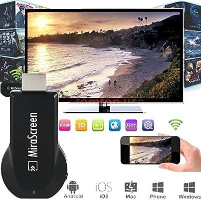 1080P HDMI AV Cable adaptador para conectar SAMSUNG GALAXY S6 S7/S7 Edge para HD TV: Amazon.es: Electrónica