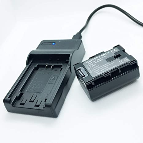 Amazon.com : Battery Pack and USB Rapid Travel Charger For JVC