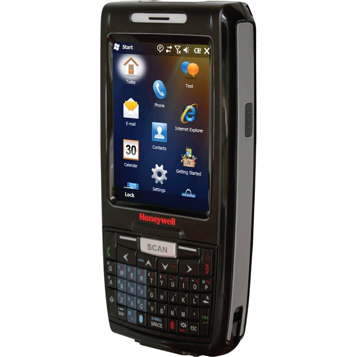 Honeywell 7800L0Q-0C211XE Dolphin 7800 Handheld Mobile Computer, Bluetooth, Standard Range Imager, QWERTY, Camera, Extended Battery, WW English