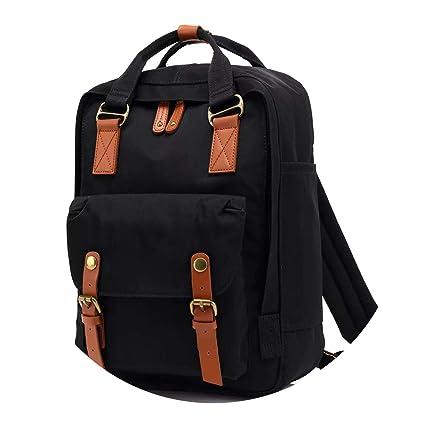 Amazon.com: Students Fashion Backpack Mochila Feminina Mujer 2018 School Bags Bolsa Escolar Bagpack,Original Black: Computers & Accessories