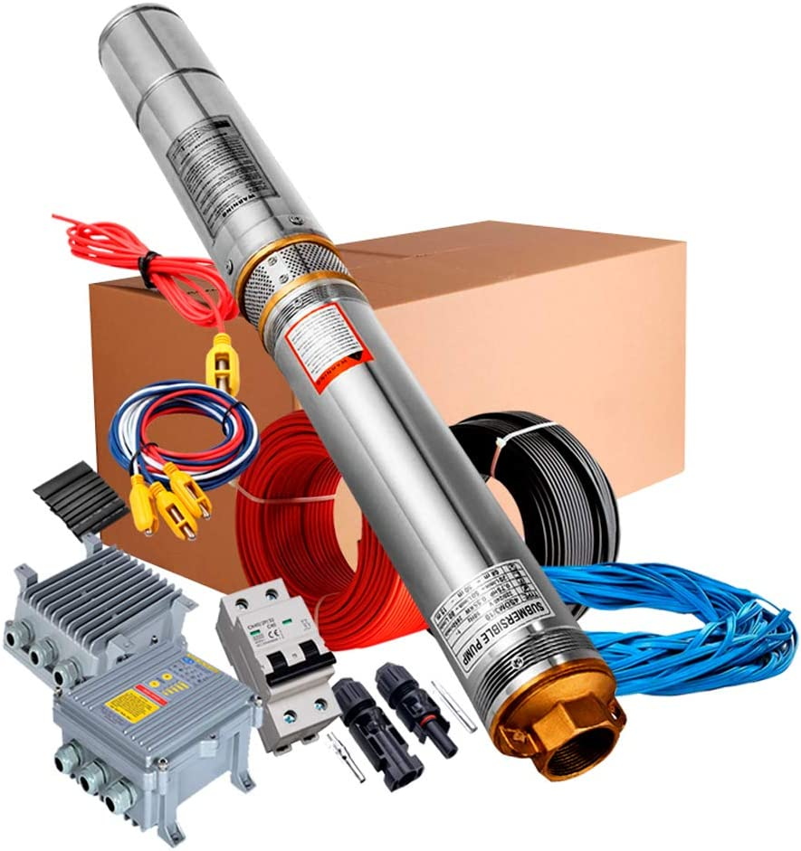 Bomba de Agua Solar Sumergible 3SSH 1.2/300/24