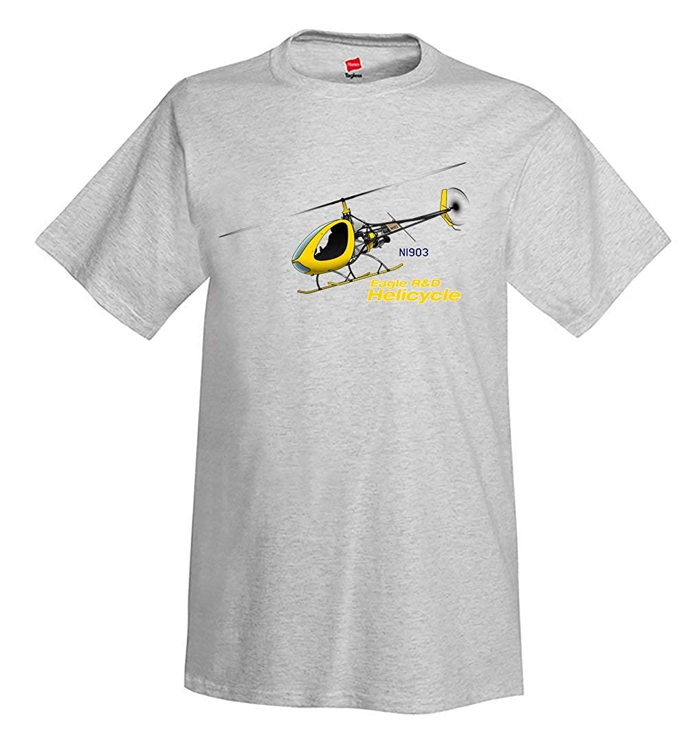 2008 Eagle R/&D Helicycle Airplane T-Shirt Personalized w//Your N#