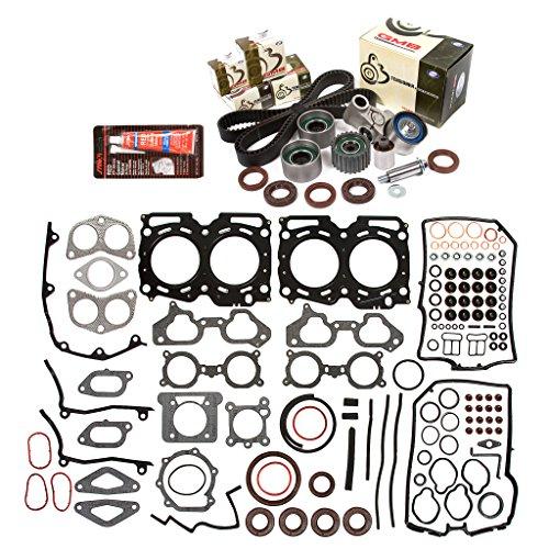 Head Gasket Set Timing Belt Kit Fit 02-03 Subaru Impreza WRX JDM 2.0 EJ207