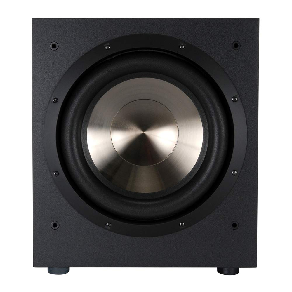 BIC America F12 12-Inch 475-Watt Front Firing Powered Subwoofer by BIC America