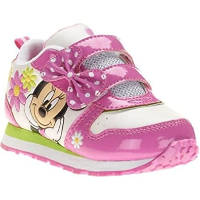 b5436e3adc1 Image Unavailable. Image not available for. Color  Disney Minnie Mouse  Toddler Girl Sneaker Shoes ...