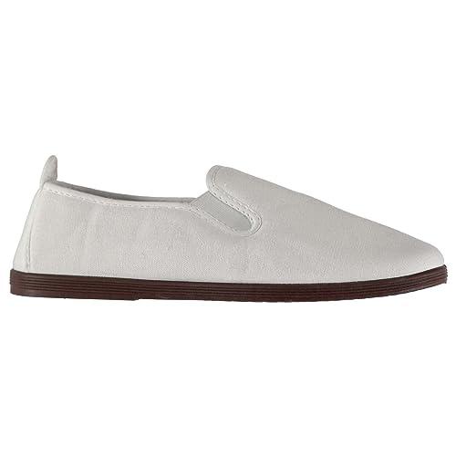 Slazenger Hombre Kung Fu Zapatillas De Lona: Amazon.es: Zapatos y complementos