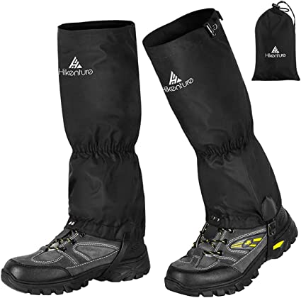 Climbing for Men and Women Unigear Waterproof Snow Leg Gaiters for Hiking Boot Gaiters for Hiking