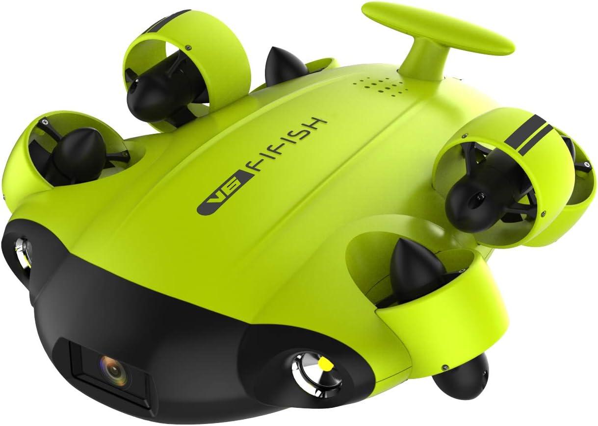 Qysea Fifish V6 Unterwasserdrohne 4k Uhd Kamera Super Kamera