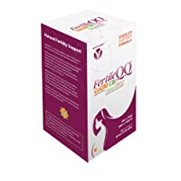 FertileQQ - Boost Your Fertility - CoQ10 Plus PQQ (Pyrroloquinoline Quinone) - 100mg of CoQ10 Plus Natural PQQ 20mg