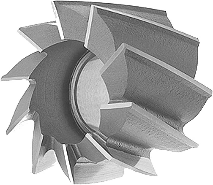 LOC: 1-1//8 Hole Dia.: 1//2 Standard Dia.: 1-3//8 H.S.S Shell End Mills