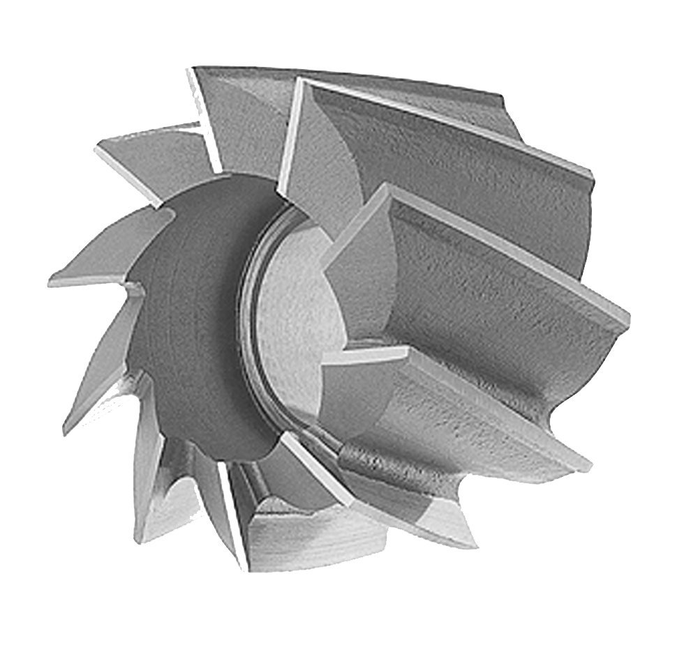 LOC: 1-3//4 Shell End Mills for Aluminum Dia.: 2-7//8 H.S.S Hole Dia.: 1-1//4