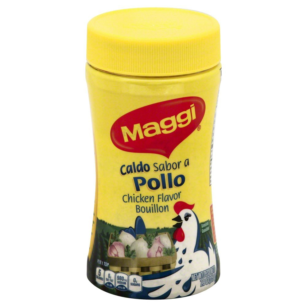 Maggi Bouillon, Granulated Chicken 7.9 OZ(Pack of 4)