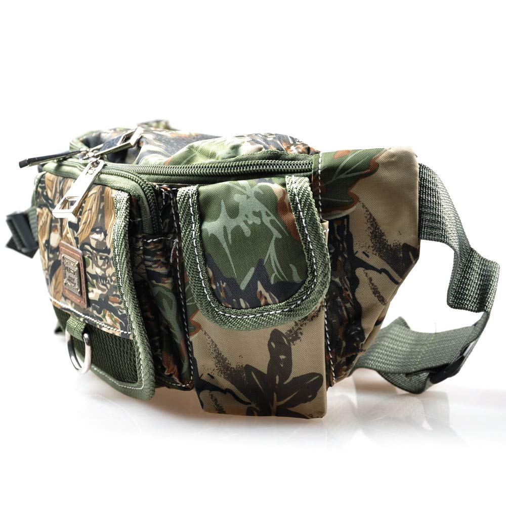 Amazon.com: Multi-Function Waist Fishing Bag 30x9x14cm ...