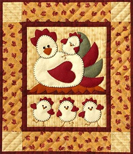Quilt Kit Pattern Fabric Button - 4