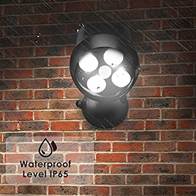 Famirosa LED Spotlight, Security Outdoor Motion Sensor Light Waterproof with 600 Lumens