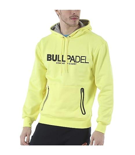 Bull padel Sudadera BULLPADEL ORTEX Amarillo FLÚOR: Amazon ...