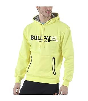 Bull padel Sudadera BULLPADEL ORTEX Amarillo FLÚOR: Amazon.es: Deportes y aire libre