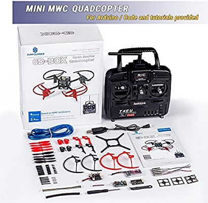 SunFounder RC Drone Quadcopter Kit 6 Axis Multiwii Flight ...