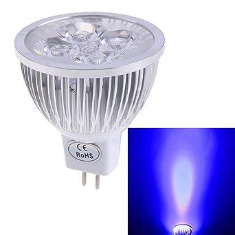 Chinatera New MR16 4 W 12 V Blau Licht LED Strahler Lampe Geringer  Stromverbrauch Blau