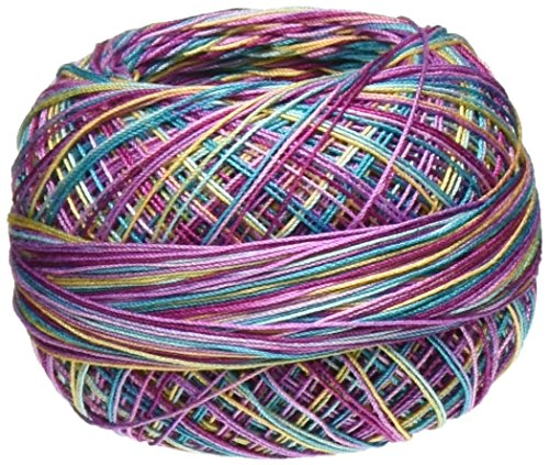 - Lizbeth Size 80 (HH80155 184 Yds 10 Grams Cotton Thread, Ocean Sunset