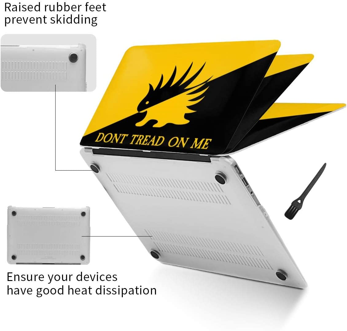 Used to Decorate and Protect Laptop.Air13 N//D Libertarian Porcupine Hedging Laptop Shell,Made of PVC Material