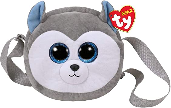 TY – ty95107 – Peluche – Bandolera Slush – El perro, 20 cm , color/modelo surtido: Amazon.es: Juguetes y juegos
