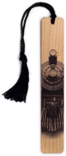 product image for Steam Locomotive 1819 Handmade Wooden Bookmark with Tassel