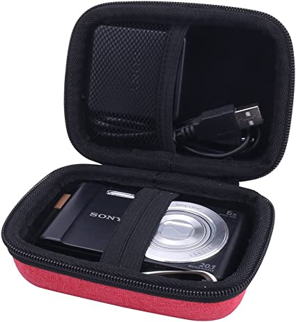 06D EVA Hard Camera Case For Sony DSC-WX350 WX220 W830 W810 W800 WX80