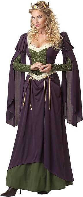 Ladies - Disfraz de medieval para mujer, talla L (213108): Amazon ...
