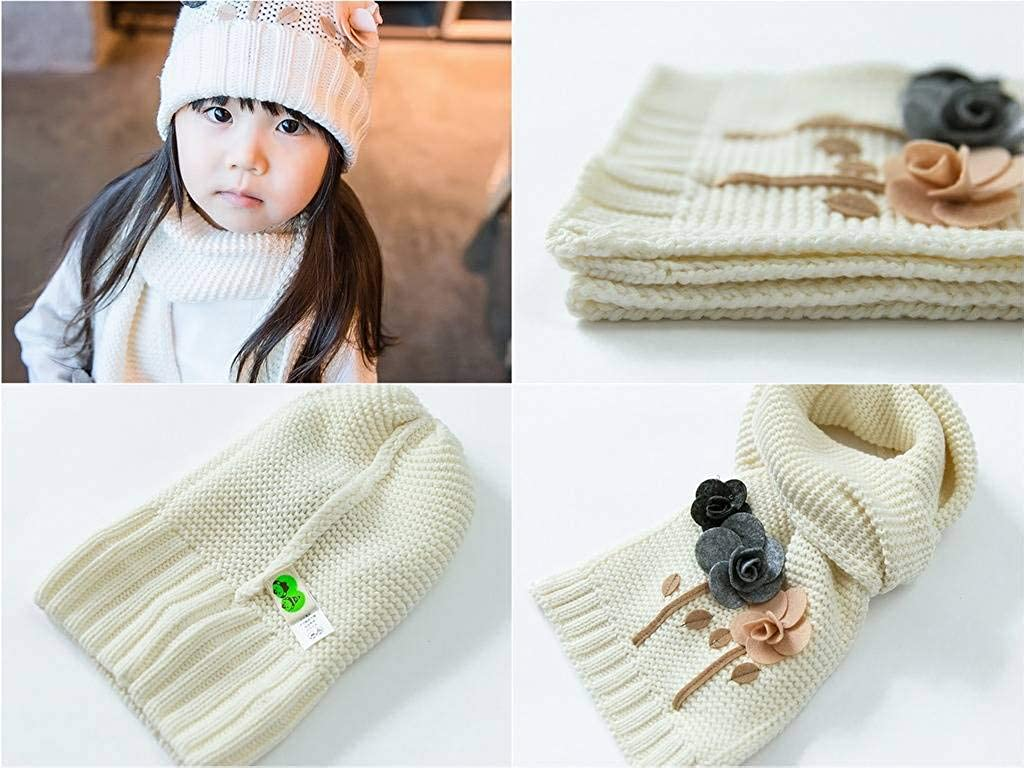 Xiang Ru Baby Kids Winter Knit Hat Scarf Gloves Set