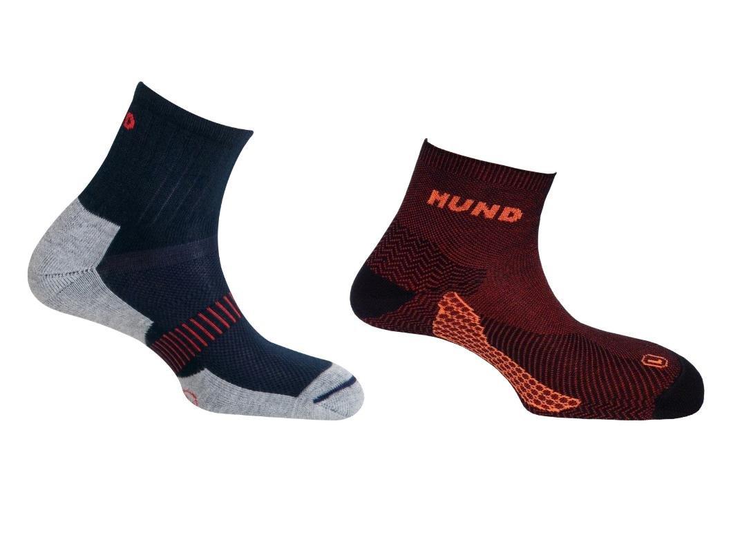 Mund Socks Pack Camino DE Santiago Calcet/ín Kilimanjaro sin Costuras y Trekking//Running Antiampollas Antibacterial y Terap/éutico EU 46-49
