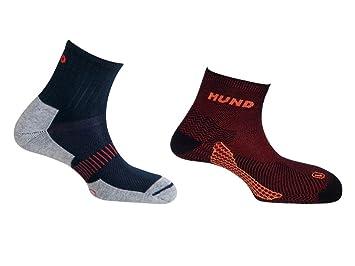 Mund socks, Paquete CAMINO DE SANTIAGO Calcetín KILIMANJARO sin costuras y TREKKING/RUNNING Antiampollas, Antibacterial y Terapéutico (EU 42-45): Amazon.es: ...