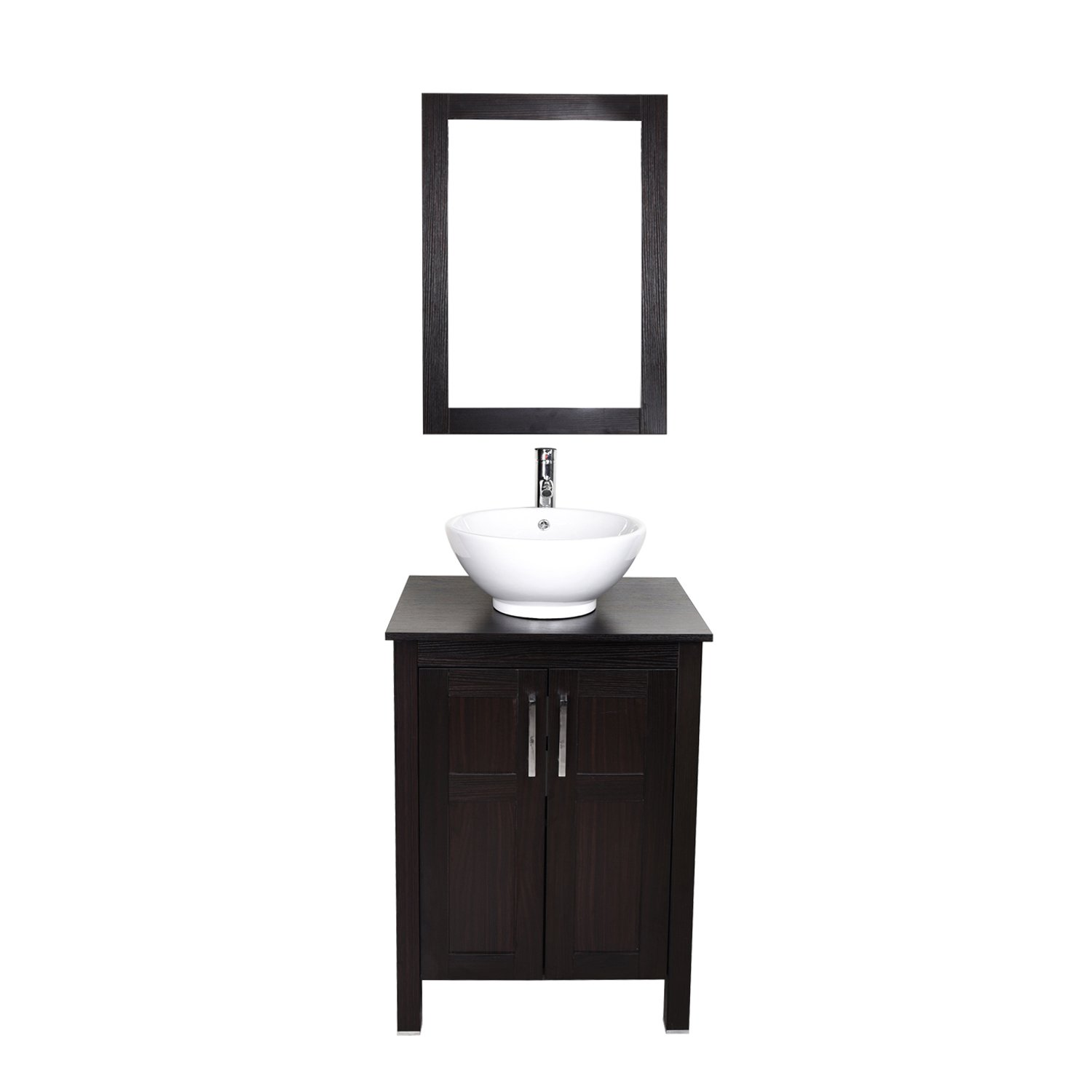 ELECWISH 24 Inch Bathroom Vanity And Sink bo Stand Cabinet and