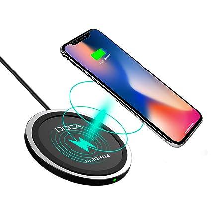 Handys & Telekommunikation Kabellose Ladegeräte 10 W Schnelle Qi Drahtlose Ladegerät Handy Pad Für Samsung S9 S8 Note8 S7 Wireless Charging Pad Für Iphone Xs Xr X 8 Puls Ladegerät Schnelle Farbe