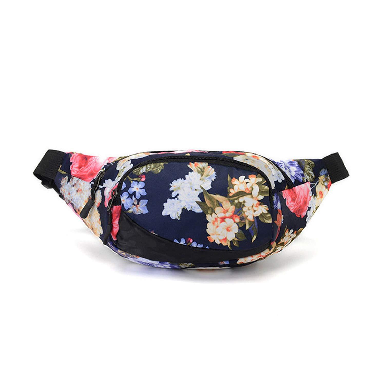 Amazon.com: naivety - Bolsa de cintura para mujer, nailon ...