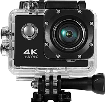 JIRU 16MP 170-Degree WiFi 4K Waterproof Sports Action Camera