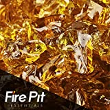 Cowboy Brown Crushed Fire Glass 1/2