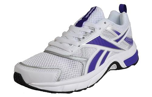 5f8c7116a3d Reebok Pheehan Run 4.0 Womens Girls White  Amazon.co.uk  Shoes   Bags