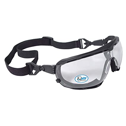 48cb1f404c Radians DG1-13 Iquity Anti-Fog Foam Lined Safety Goggle - - Amazon.com