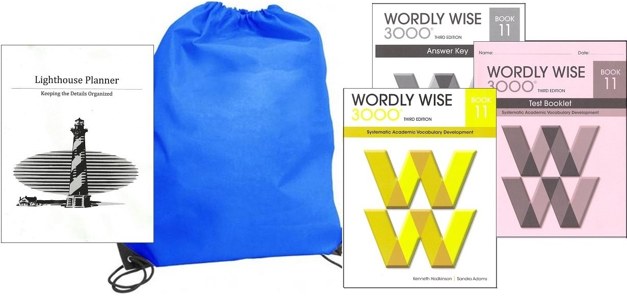 Wordly Wise 3000 Grade 11 SET homeschool kit in a bag PDF
